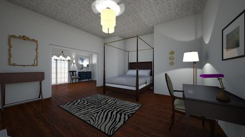 Traditional Contemporary - Classic - Bedroom  - by marymbarbee