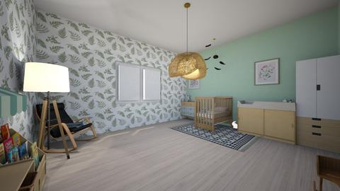 baby neutral room - Kids room  - by Marion_