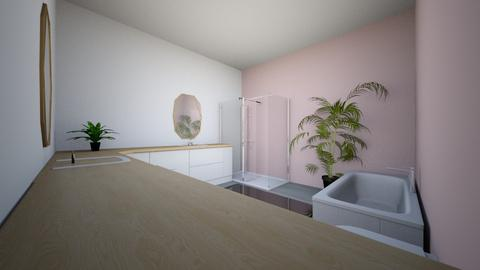 Aesthetic Rose Bathroom - Classic - Bathroom  - by TheKalaniPlays