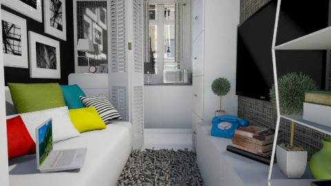 Paris tiny room - Modern - Living room  - by Senia N