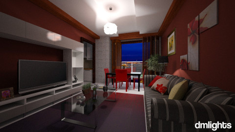 Link orange - Living room - by DMLights-user-982635