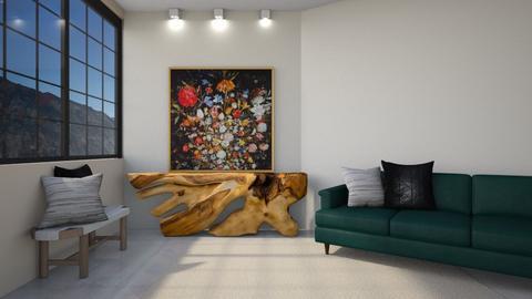 Aayda - Living room  - by Meghan White
