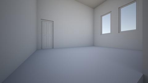 Modern flat - Living room  - by Earvette
