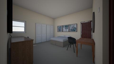 room bed 2 - Bedroom  - by bohemaledesing