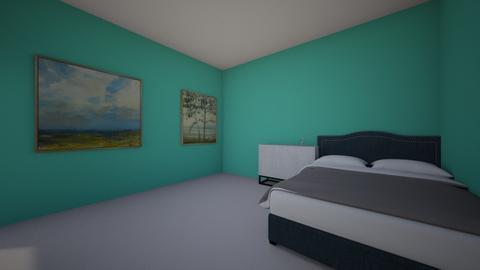 habitacion de narda  - Vintage - by NACHO ESTRELLA