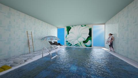 OKeeffe pool  - Bathroom  - by loona18