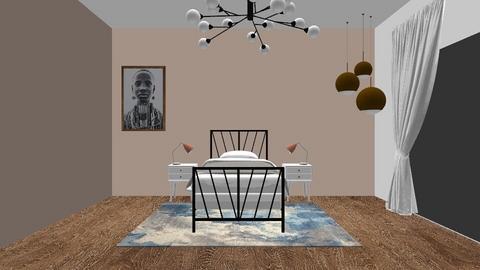 room zus - Minimal - Bedroom  - by yarno