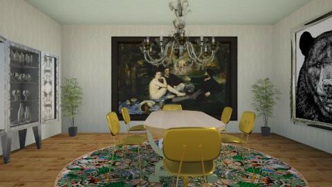 1st room in Room Styler - Dining room  - by CharlotteKelley