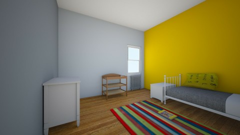 tola - Kids room - by Ross Capellan