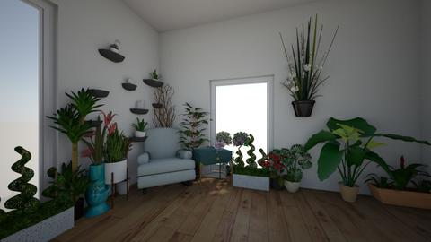 Plant room serenity - by Dark Chocolate