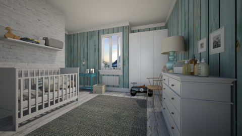 For Baby Rowan - Kids room  - by Maria Esteves de Oliveira