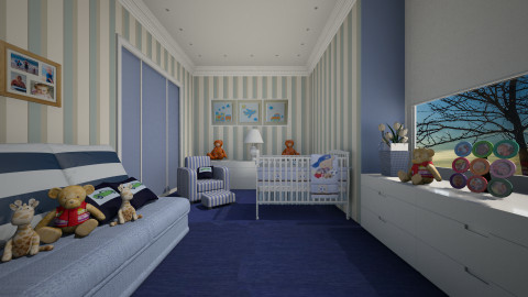 Garotinho - Kids room  - by Sanare Sousa