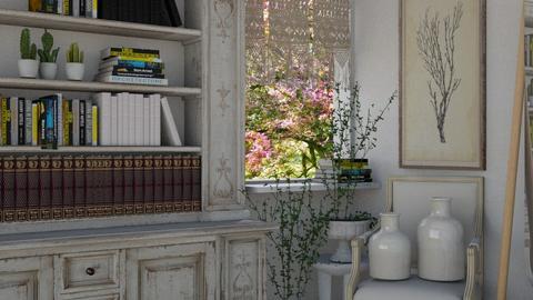 Shabby Chic Read Corner - Living room  - by KittyKat28