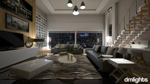 dmlightsenhome - Modern - Living room  - by Senia N