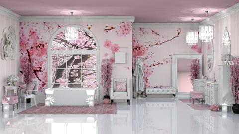 PINK CHERRY BLOSSOM BATH - Classic - Bathroom  - by RS Designs