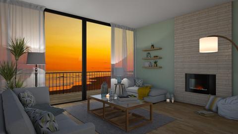 Cozy Beach - Living room - by chicki3812