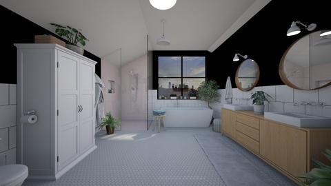 a - Bathroom - by Dia Toth