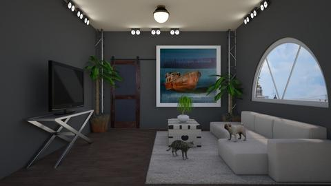 Matilda's Minimalistic Livingroom - by Matilda de Dappere