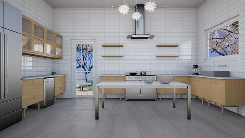 Kitchen - Modern - Kitchen - by Vampire_Kitty