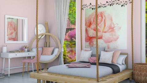 ROSE bedroom - Bedroom  - by gumball13
