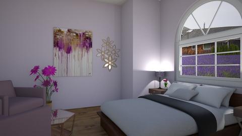 Lavender Room - Bedroom  - by LittleEponine