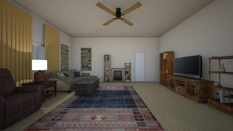 Compact Guest House - Living room  - by mspence03