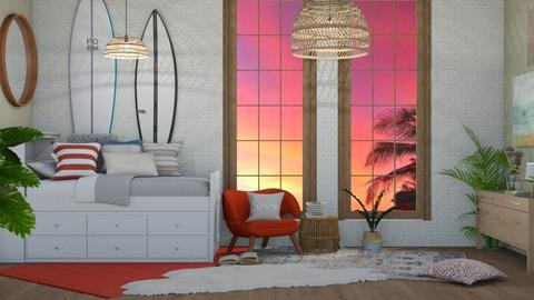 Surf Culture B2 - Modern - Bedroom - by NEVERQUITDESIGNIT
