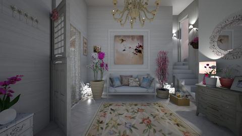Shabby chique hallway - by Themis Aline Calcavecchia