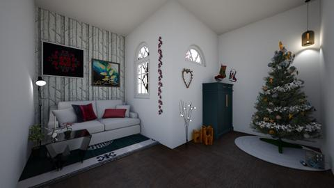 Yule - Living room - by emilydamkjr