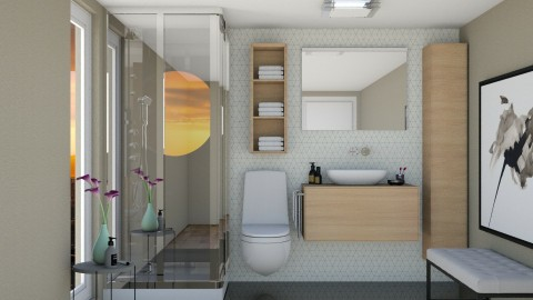 Barth - Modern - Bathroom  - by aletamahi
