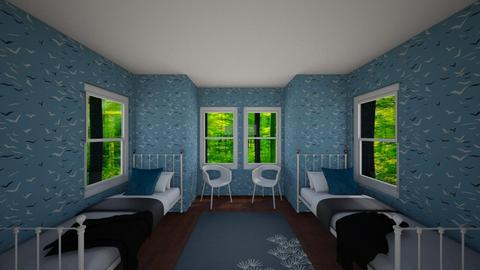 A Twin Bedroom For Two - Bedroom - by house17