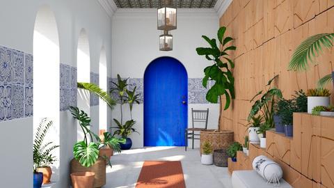 Mediterranean Patio - by ArtHousedeco