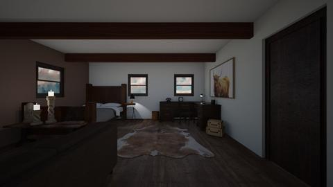 Old bedroom - Country - Bedroom  - by Noa Jones
