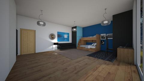 Big Bedroom - Modern - Kids room  - by gamewiner