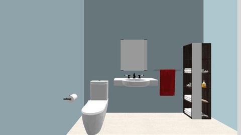 Aging 2 - Bathroom  - by brookekill
