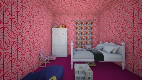 Girls Bedroom - Modern - Kids room  - by InteriorDesigner111