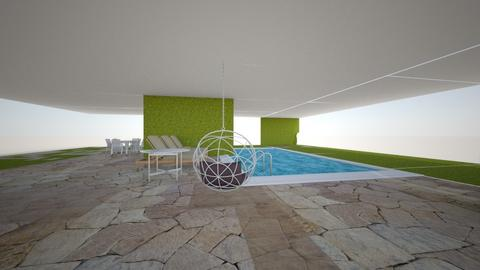 pool area - Garden - by Ngfrench6