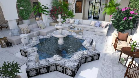 Moroccan Riad - by ZsuzsannaCs