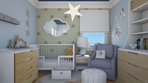 Starry Night - Kids room  - by lauren_murphy