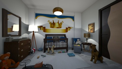 for my son - Classic - Kids room  - by matina1976