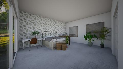 The plant room  - Bedroom  - by llamaperson