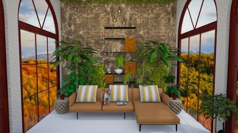 Plants in the Living room - Living room - by DorethavanTaak1995