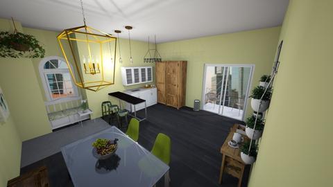 green leaf dining - Global - Kitchen  - by aschaper