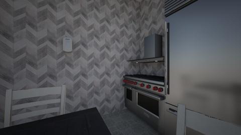 cute kitchen - Country - Kitchen  - by Valentina_mel2011
