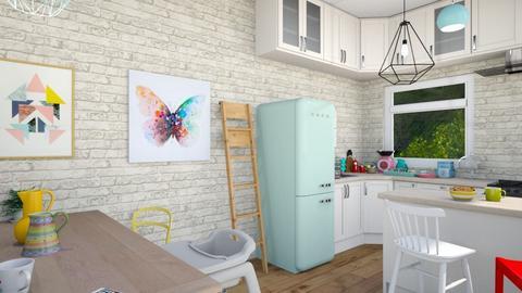 Kitchen 4 - Kitchen - by AlessiaDW