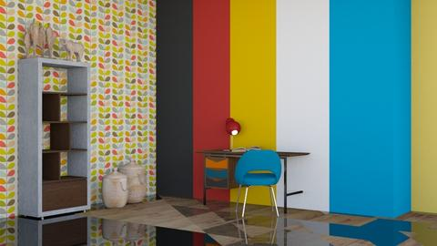 Bauhaus studyroom - by luna selvaggia