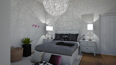 Subtle Hints Of Pink - Modern - Bedroom  - by Rinnah02