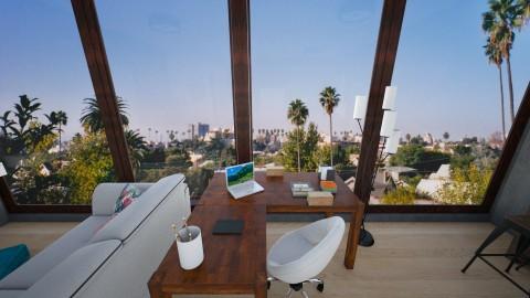 Hollywood Hills Studio - Rustic - by ltoan1110