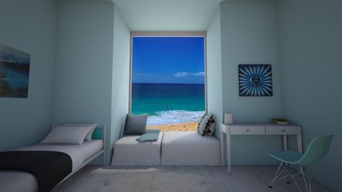 beach room - by owldesigner
