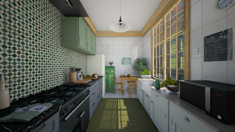 Small kitchen  - Kitchen  - by AnnaMull